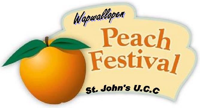 Just Peachy! St  John's UCC Peach Festival August 24