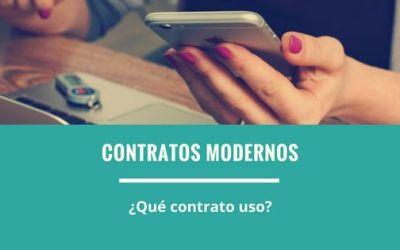 Contratos modernos ¿Qué contrato uso?