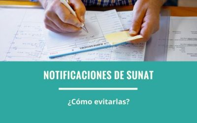 ¿Cómo evito las notificaciones de SUNAT?   Develando mitos