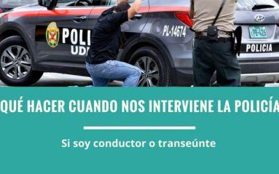 ¿Es obligatorio portar el DNI en Perú?  y ¿Qué hacer si me interviene la policía?