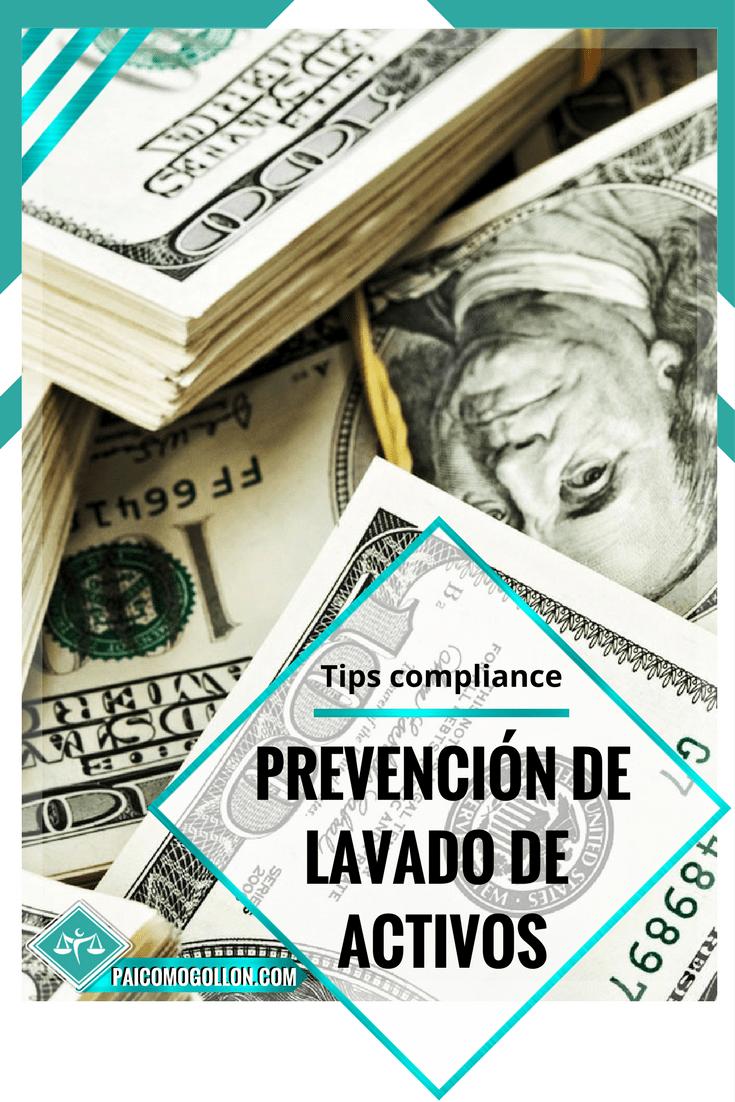 Tips Compliance| Lavado de activos cómo prevenirlo