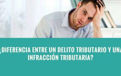 Diferencia entre un delito Tributario y una infracción tributaria en la legislación peruana
