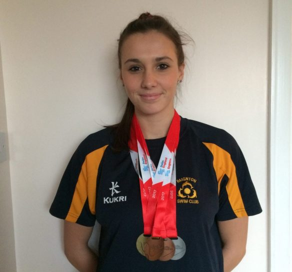 Emma Wins Gold at English Masters