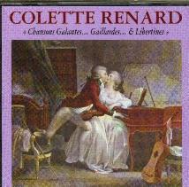Liste complète des chansons du double CD Colette Renard