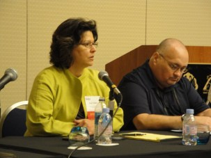 Discussion Panel, Fran Vollaro and Rodger from Reliable