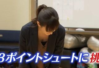 桐谷美玲パンチラ胸チラ放送事故エロお宝画像14