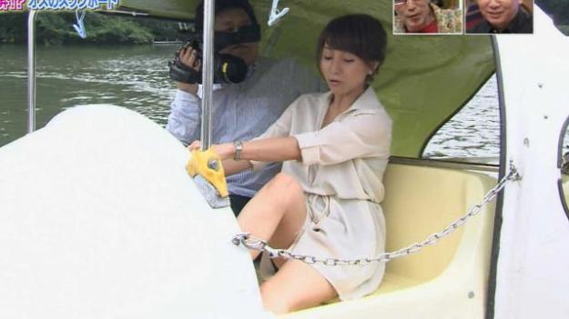 田中みな実パンチラ放送事故エロお宝画像