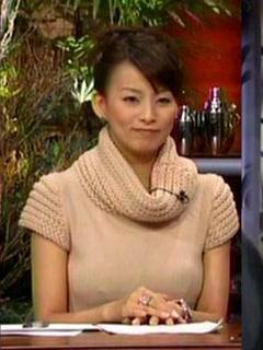 柴田倫世アナ巨乳おっぱいの谷間胸チラリ乳首透け放送事故エロお宝画像