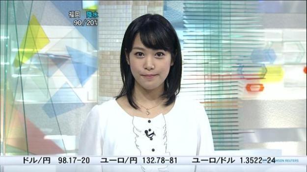 鷲見玲奈アナ・乳首透け放送事故エロお宝画像