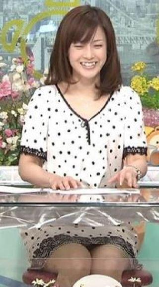 杉崎美香アナパンチラ放送事故エロお宝画像15