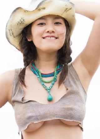 筧美和子乳首ポッチ+乳輪透けエロ画像36