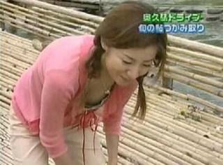 川村ひかる乳首ポロリ放送事故エロお宝画像