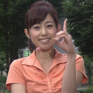 塩尻奈都子アナおっぱいの谷間胸チラリ放送事故エロお宝画像6