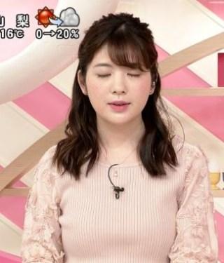 佐藤真知子アナ巨乳おっぱいがエロ過ぎるお宝画像