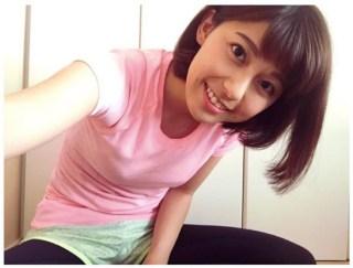 上村彩子アナ乳首の突起が胸ポッチエロお宝画像