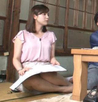 角谷暁子 パンチラ・太もも・足裏エロお宝画像