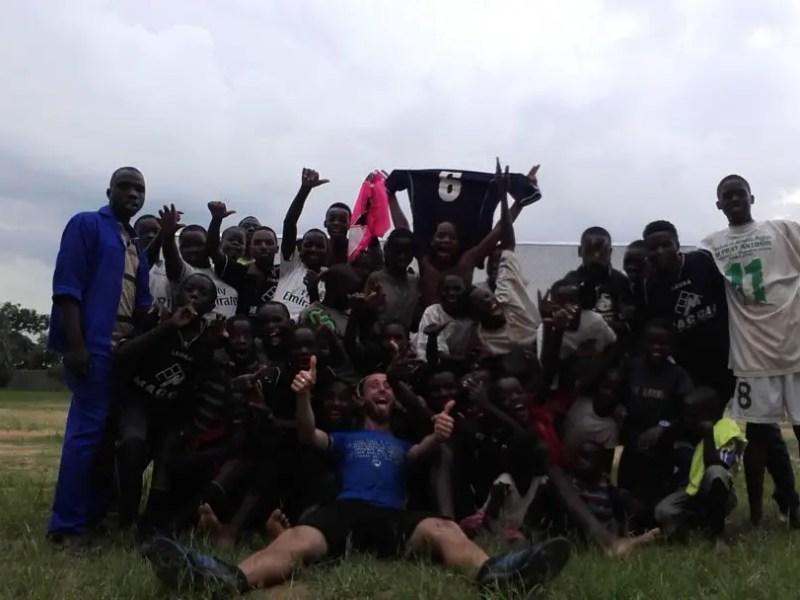 Intervista   HopeBall: da Londra allo Zambia per seminare speranza col calcio