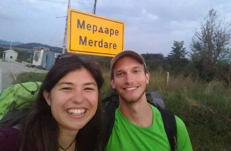 Confine Serbia - Kosovo