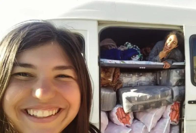 furgone merci in kirghizistan