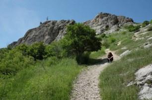 Sara sulla Montagna Sacra