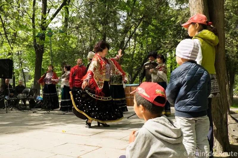 Un concerto di cosacchi siberiani