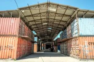 I conteiner del Dordoy bazaar