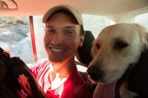Dario + cane