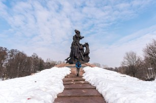 Il monumento alle vittime del nazismo