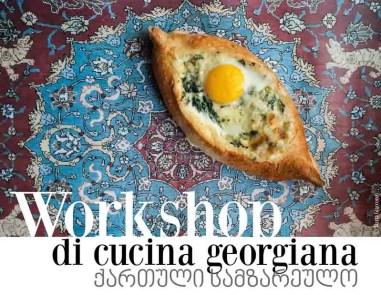 Un workshop di cultura e cucina georgiana. A Milano, con Pain de Route e Marta's Plants