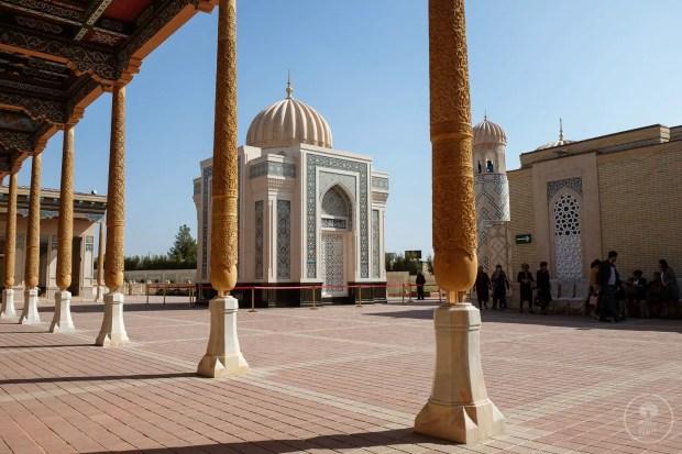 Il Mausoleo di Islom Karimov a Samarcanda