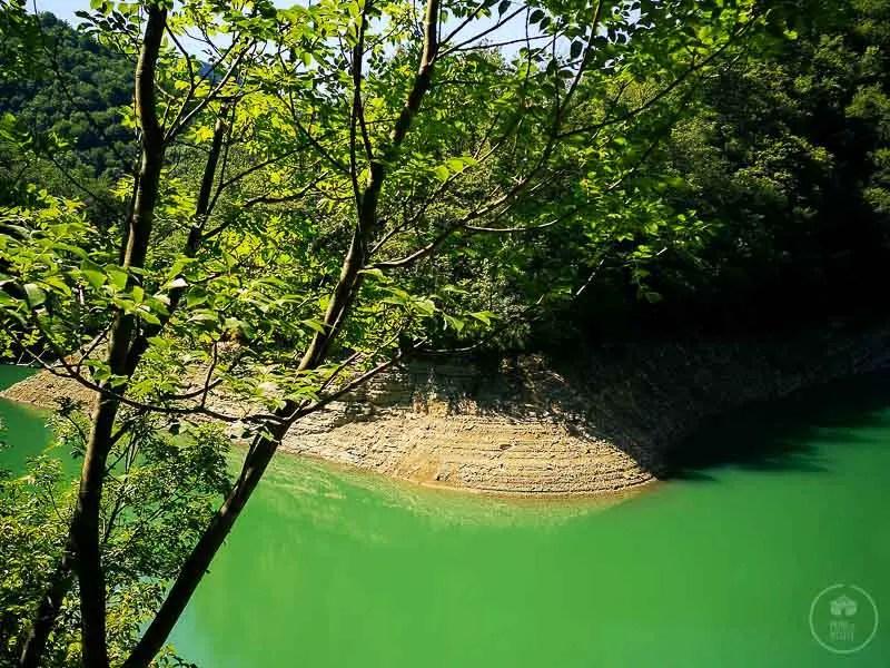 lago di ridracoli trekking foreste casentinesi