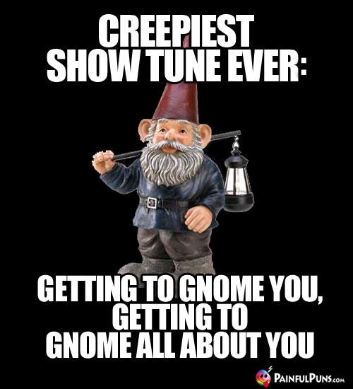 Zombie Gnome Jokes Creepy Gnomes Scary Troll Puns 6