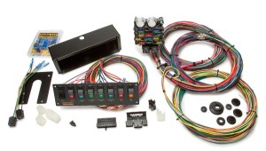 21 Circuit Pro Street Chassis Harness wSwitch Panel