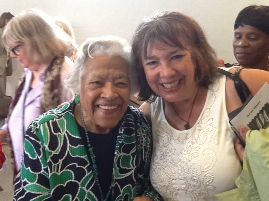 Ms. Leah Chase and me
