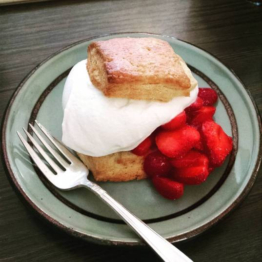Strawberry Shortcake- Sequoia Diner