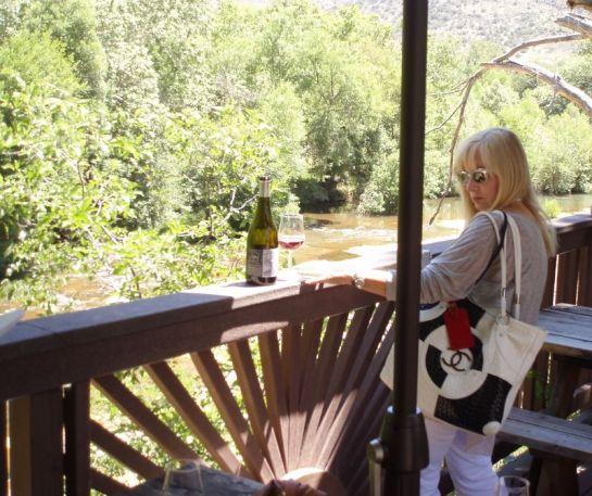 Deck Alongside Oak Creek
