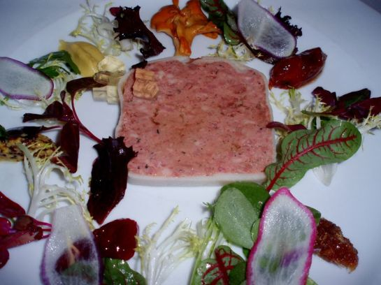 Pâté de Campagne at Restaurant August