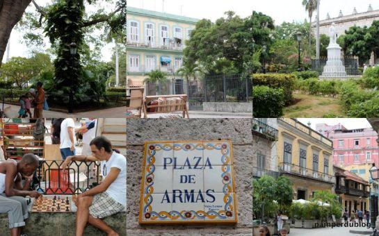 Around Plaza de Armas- Havana,Cuba
