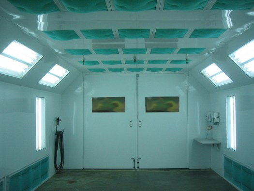 Correctly Install A Paint Booth Sdd White Inside