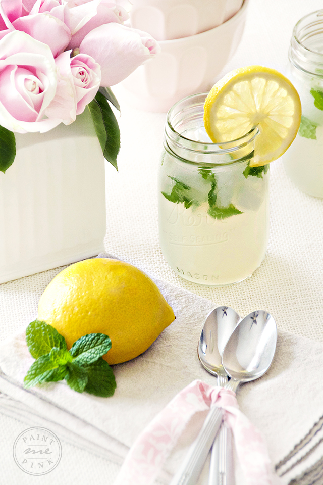 Easy to make Mint Lemonade Recipe