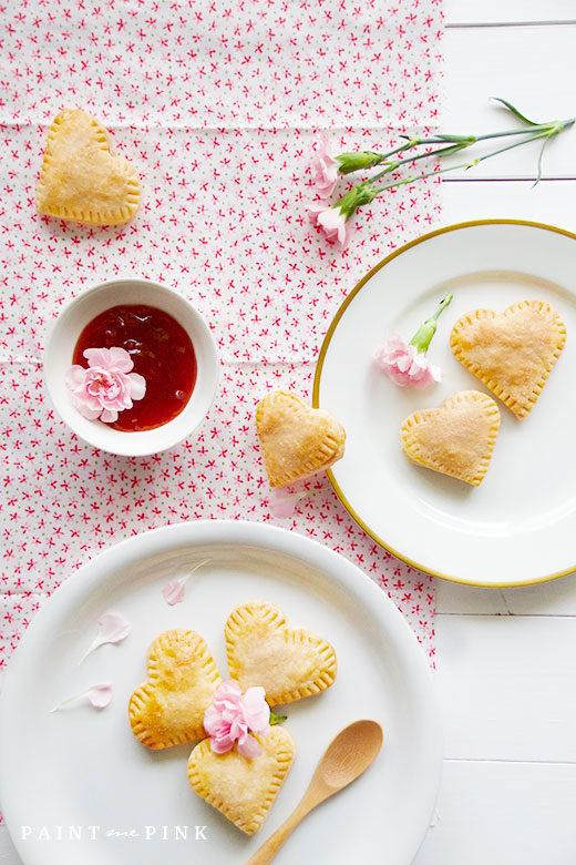 Mini-Heart-Strawberry-Jam-Pies