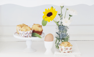 Sunflowers, Butterflies, and Muffins