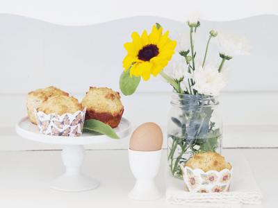 Sunflowers, Butterflies, and Muffins