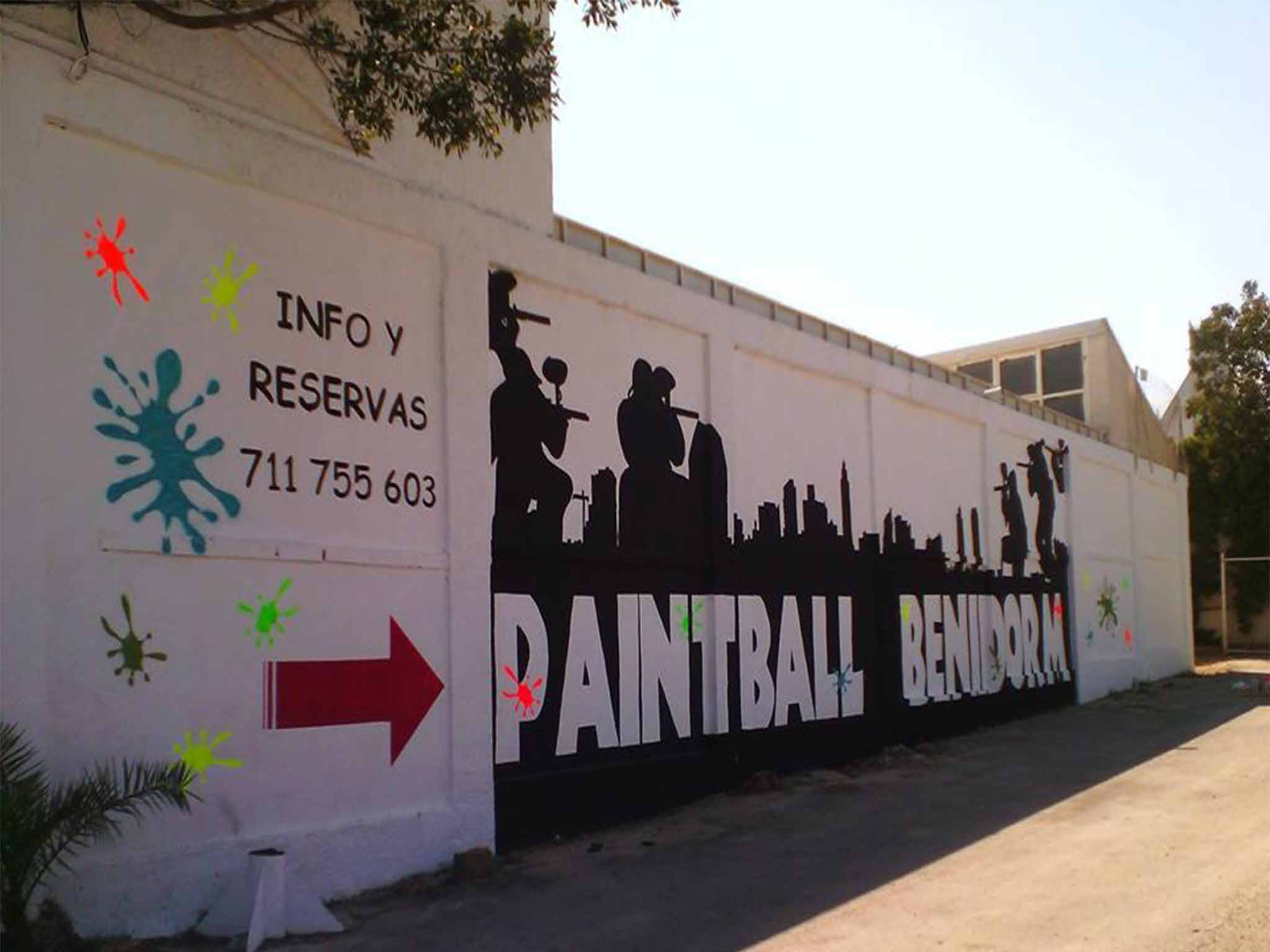 Paintball Benidorm