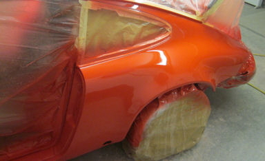 Classic Car Painting Sparying Paint Barn Hampshire Uk