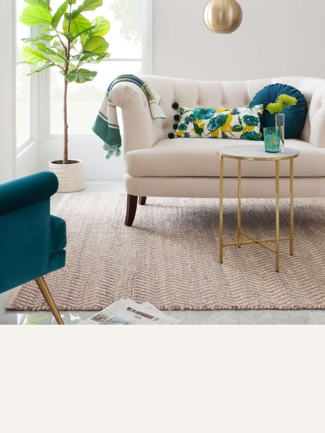 Blazing Needles Microsuede U Shaped Indoor Chair Cushion