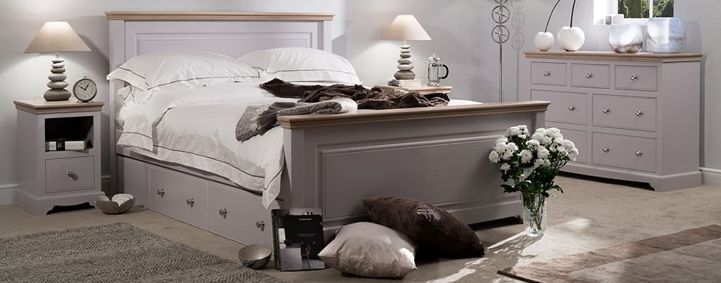 Painted Bed Frames Painted Bedroom Furniture