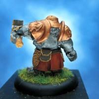 Painted Scibor Miniature Dwarf Iron Hammer