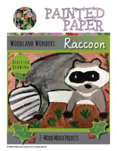 Woodland Wonders Raccoon cover