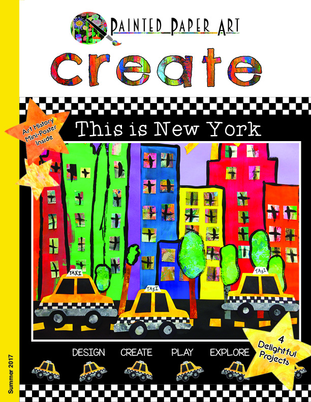 Create magazine vol 2 this is new york painted paper art for New york city things to do today